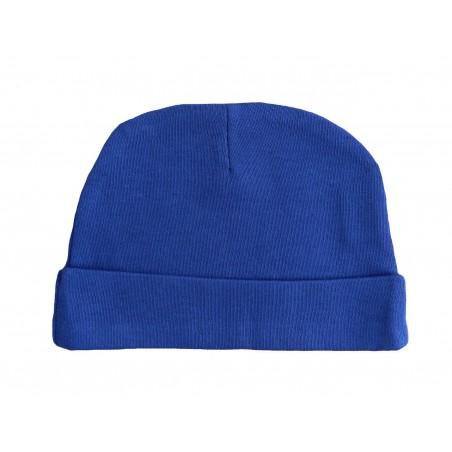 Bonnet naissance bleu-marine