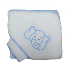 Cape de bain bébé éléphant