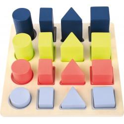 Puzzle à encastrer formes...