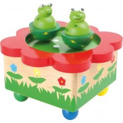 Boite à musique danse des grenouilles