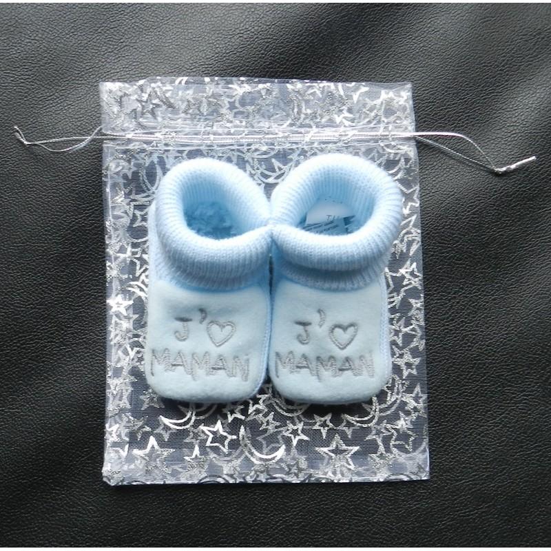 pochette cadeau pour chaussons