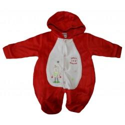 Combi-pilote noël pour bébé