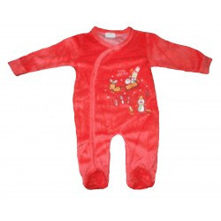Pyjama velours thème noël