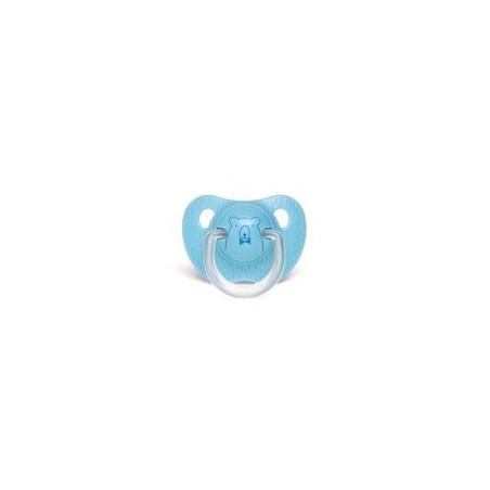 Sucette physiologique bleu ourson