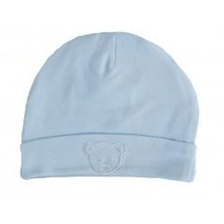Bonnet naissance bleu