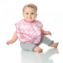 bavoir souple bébé fille