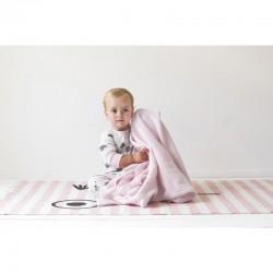 Couverture bébé respirante en coton