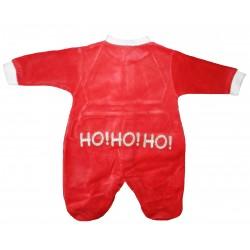 Pyjama bébé velours noël