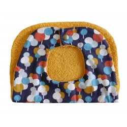 Bavoir bébé tissu en coton éponge tout doux