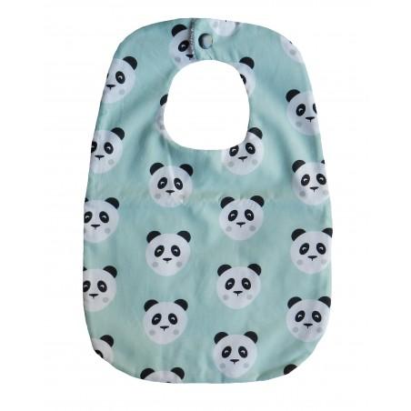 Bavoir bébé fait main panda