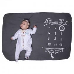 Couverture pour bébé décor photo
