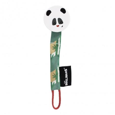 Attache sucette rototos le panda marque Les déglingos