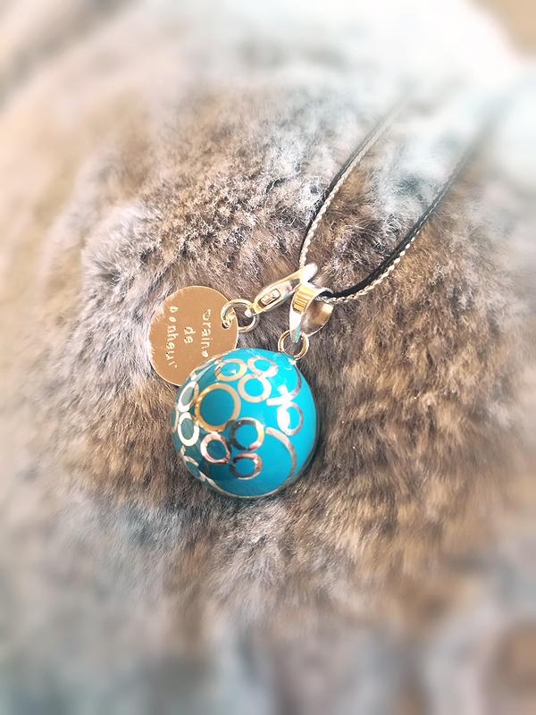 Bola de grossesse turquoise