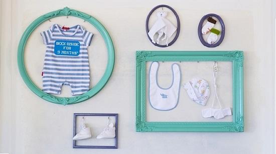 Cadeau naissance sous forme de coffret pour habiller bébé
